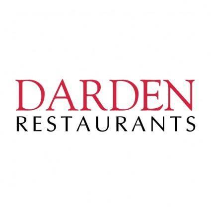 free vector Darden restaurant