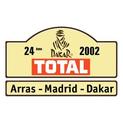 Dakar rally 2002