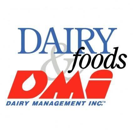 free vector Dairy foods dmi