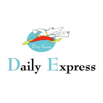 free vector Daily express