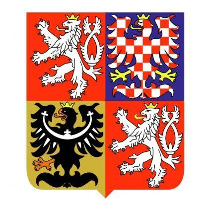 Czech republic national emblem
