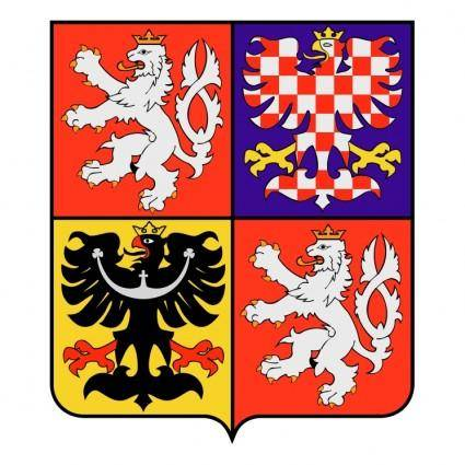 Czech republic national emblem 0