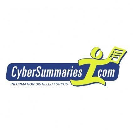 Cybersummariescom