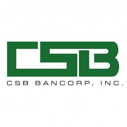free vector Csb bancorp