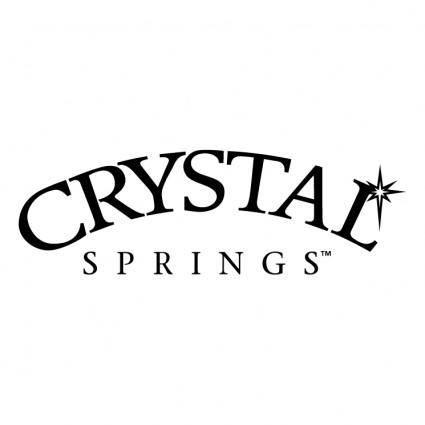 free vector Crystal springs 0