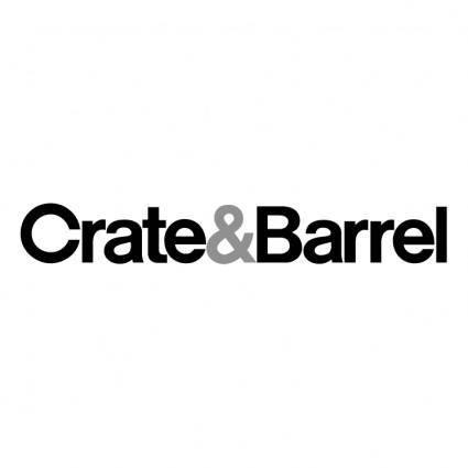 free vector Crate barrel