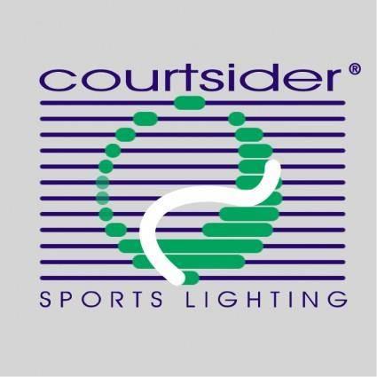 free vector Courtsider sports lighting