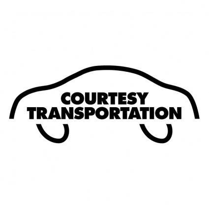 free vector Courtesy transportation
