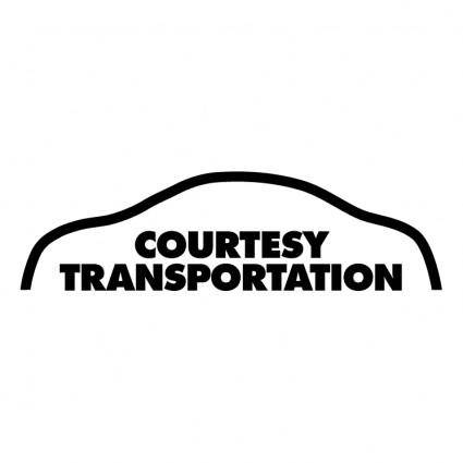 free vector Courtesy transportation 2