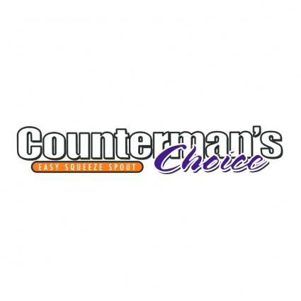 free vector Countermans choice