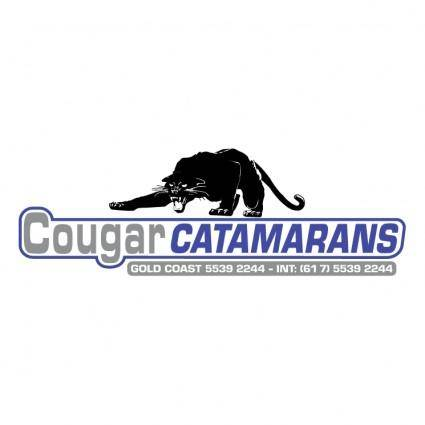 free vector Cougar catamarans