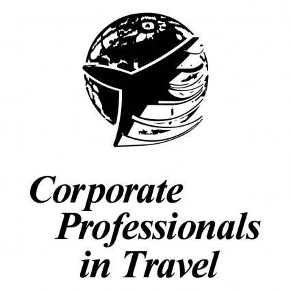 Corporate professionals in travel