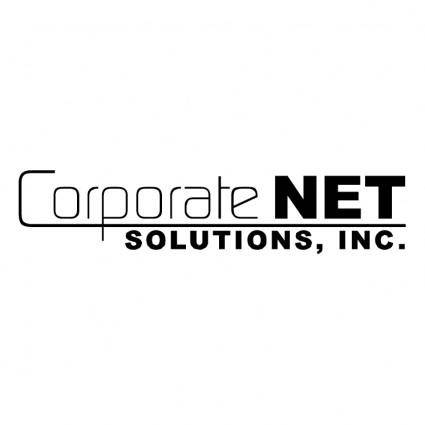 free vector Corporate net solutions