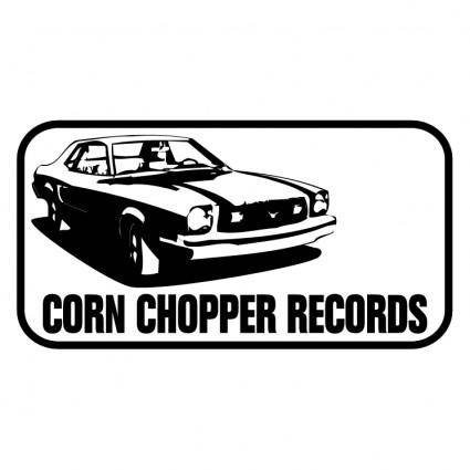 Corn chopper records