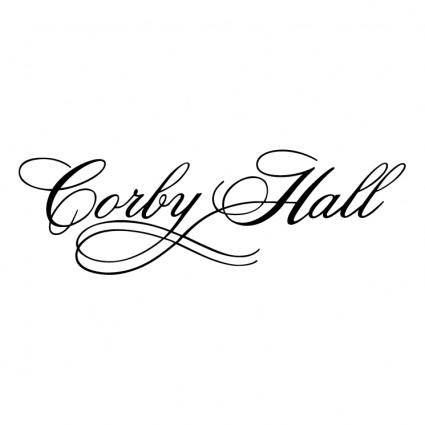 free vector Corby hall