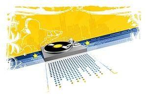 free vector Dj musical elements vector