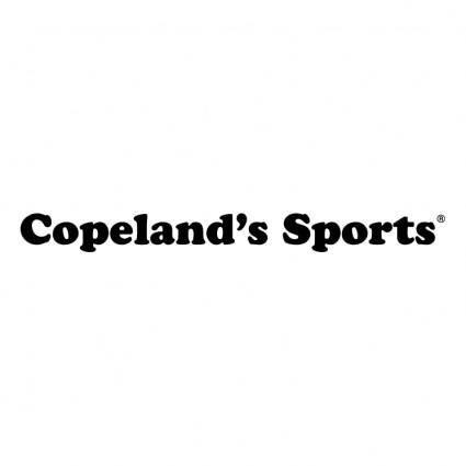 free vector Coperlands sports