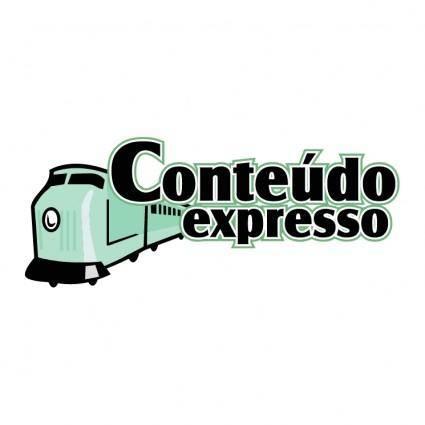 free vector Conteudo expresso