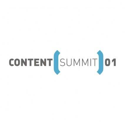 free vector Content summit 01