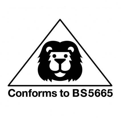 Conforms to bs5665