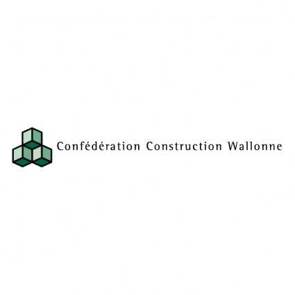 Confederation construction wallonne