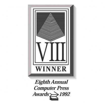 free vector Computer press awards