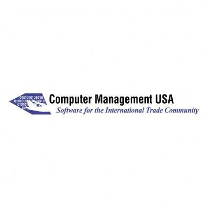 free vector Computer management usa