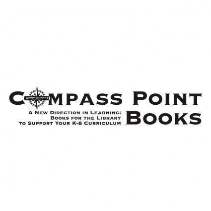 free vector Compass point books 0
