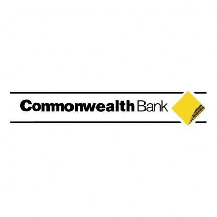free vector Commonwealth bank 2