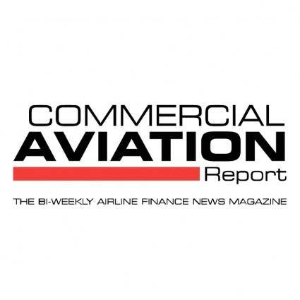 free vector Commercial aviation report