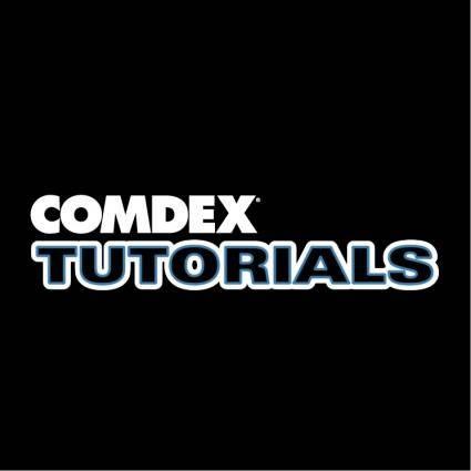 Comdex tutorials