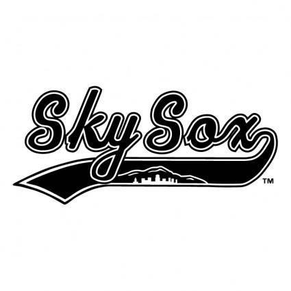 free vector Colorado springs sky sox