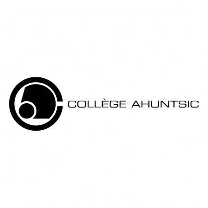 free vector College ahuntsic