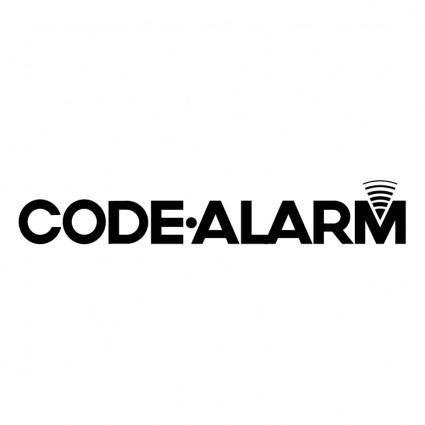 Code alarm 0
