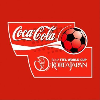 free vector Coca cola 2002 fifa world cup