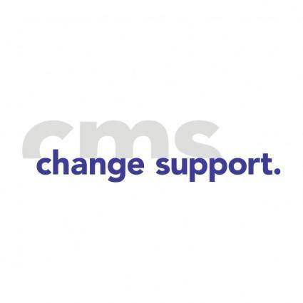 Cms ag change management support