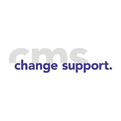 Cms ag change management support