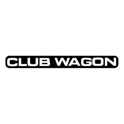 free vector Club wagon