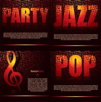 free vector Party theme vector