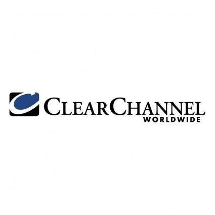 free vector Clear channel worldwide