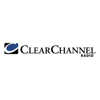 free vector Clear channel radio
