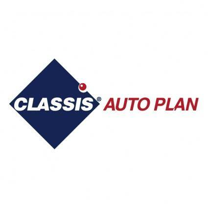 free vector Classis auto plan
