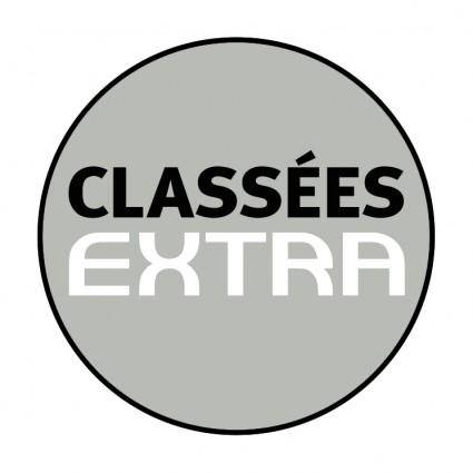 free vector Classees extra