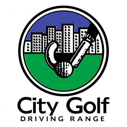City golf driving range