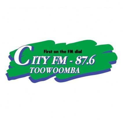 free vector City fm radio
