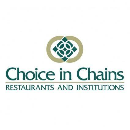 Choice in chains