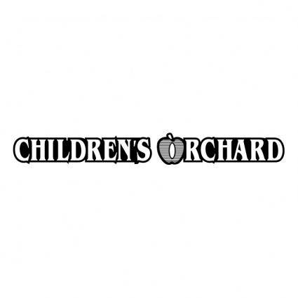 free vector Childrens orchard
