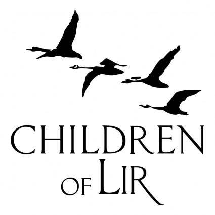 free vector Children of lir