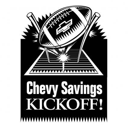 free vector Chevy savings kickoff
