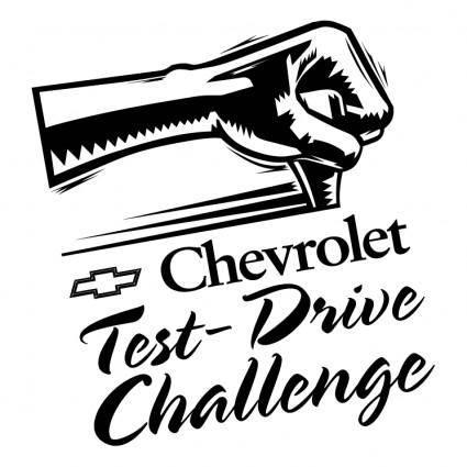 Chevrolet test drive challenge